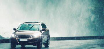 Conseils d'une assurance auto malus : pluie ou grêle au volant